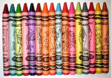List of Crayola crayon colors - names and values