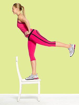 Step-Up, Kick-Back - Fitnessmagazine.com