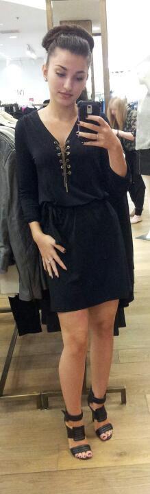 Dress: Michael Khors