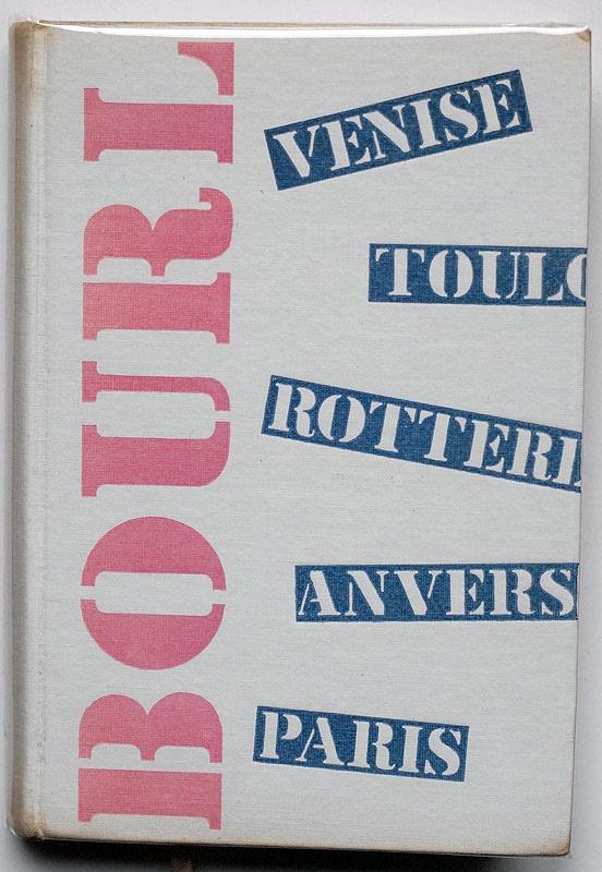 Bourlinguer, Blaise Cendrars  Club du meilleur livre, Paris, 1953  maquettes originales: Robert Massin
