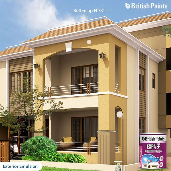 Expa 7 from British Paints - The lifeline of the exteriors!
