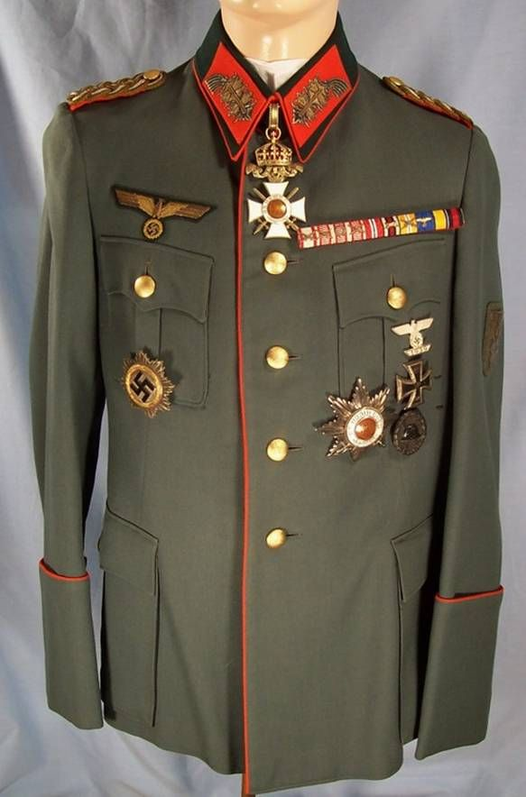 Wehrmacht General's Uniforms