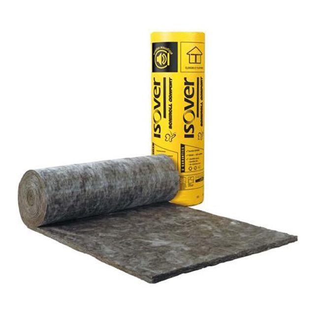Isolant laine de verre Soniroll épaisseur 28mm - ISOVER 8,57€/m²