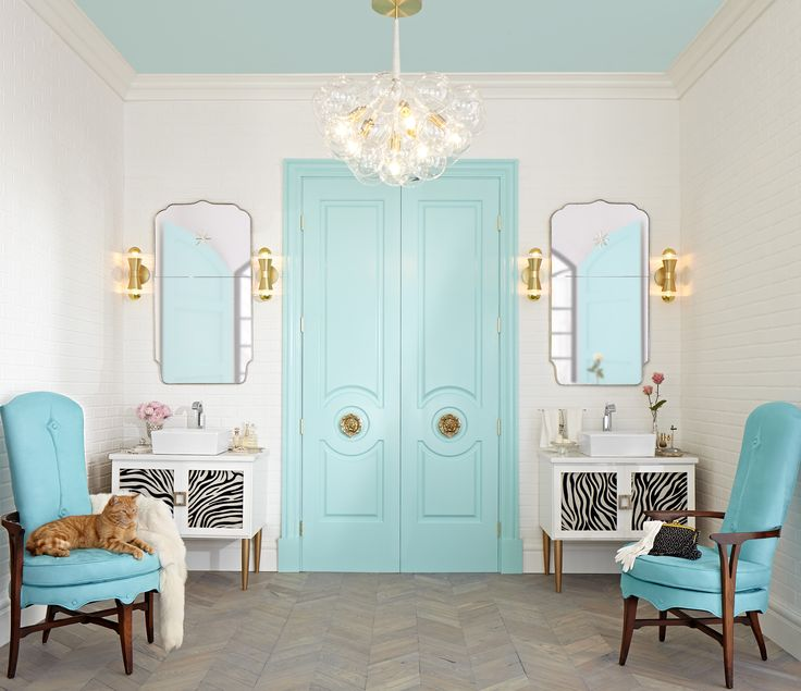 1000+ Images About Metrie Doors And Trim Auf Pinterest | Türen ... Badezimmer Gold Trkis