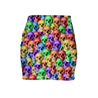 """""""So you might have heard about candy skulls... But have you heard of RAINBOW SKULLS?"""""""