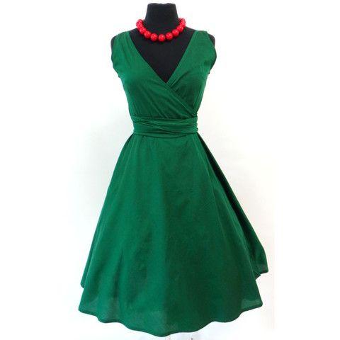 Wrap Dress Plain Colours