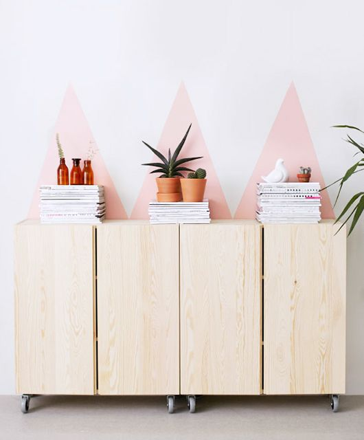 Put Some Paint On It via IKEA / sfgirlbybay