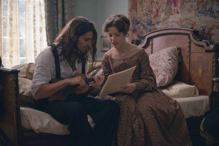 """Niccolò Paganini (David Garrett) & Charlotte (Andrea Deck) in """"The Devils Violinist"""" FAVOURITE SCENE"""