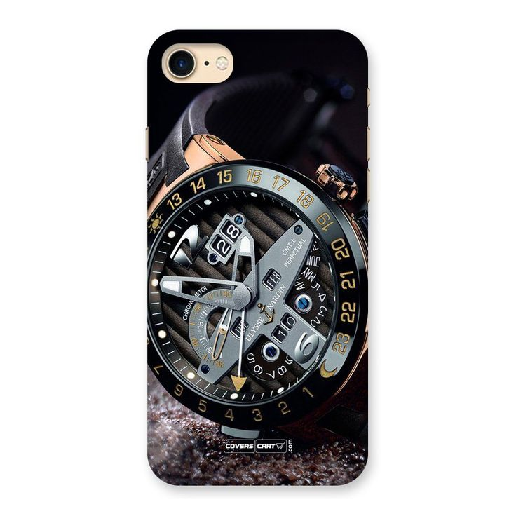 Designer Stylish Watch Back Case for iPhone 7 | Mobile Phone Covers & Cases in India Online at CoversCart.com