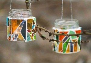 Что сделать из жестяных и стеклянных банок: идеи для поделок и декора (32 фото)
