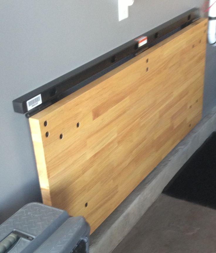 Unique Folding Garage Workbench 6 Folding Garage