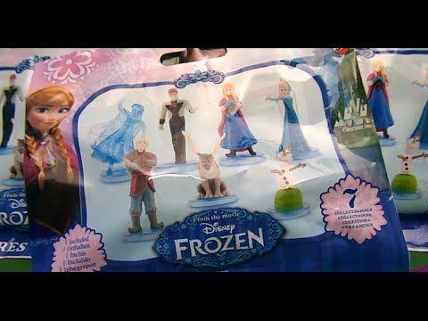 Disney Frozen. Surprise Blind Bags. Frozen mini figures.