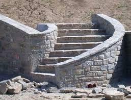 Oltre 25 fantastiche idee su scale in pietra su pinterest gradini di pietra gradini in pietra - Rivestimenti scale esterne ...
