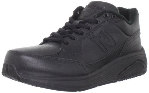 New Balance Women's WW928 Health Walking Laced Shoe,Black,9.5 4E US