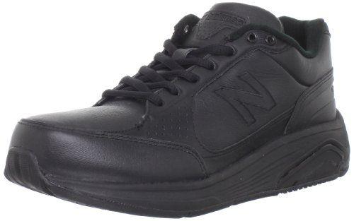 New Balance Women's WW928 Health Walking Laced Shoe,Black,9.5 4E US