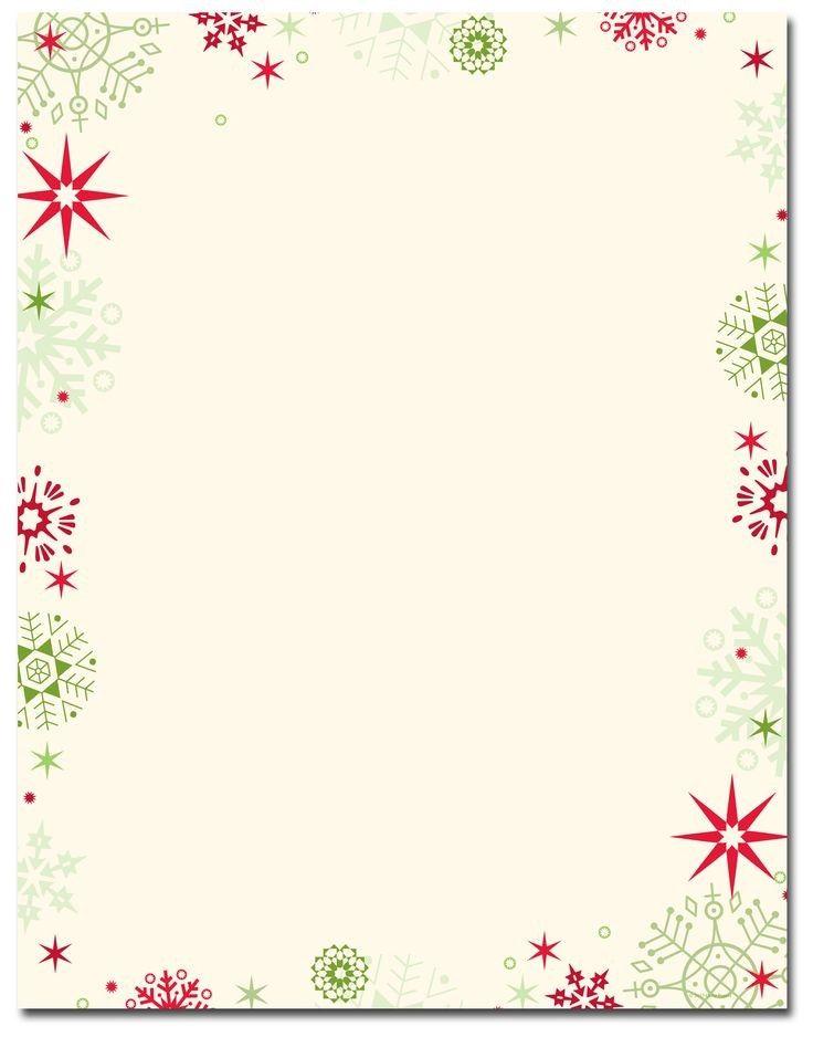 Pin By Andreja Novak On Imagenes Christmas Letterhead Christmas Letter Template Free Christmas Stationery