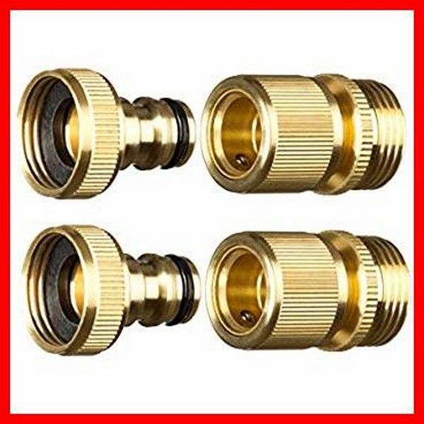 Quick Connect Water Hose Fittings In 2020 Hose Connector Hose Garden Hose