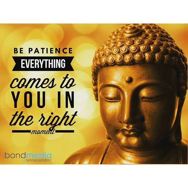 Life Quote: Be Patience Everything comes to you in the right moment  For more......... follow me on Instagram xx