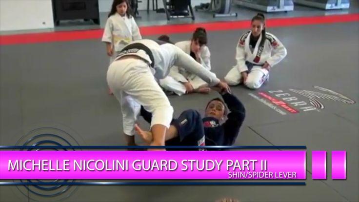 BJJ Scout: Michelle Nicolini Guard Study Part 2: Shin/Spider Lever