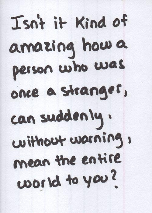 Isn't it kind of amazing?
