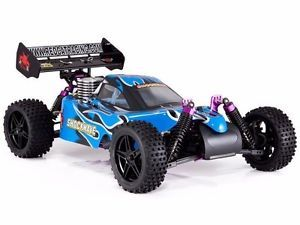 a redcat shockwave 110 scale offroad racing 4wd 4x4 nitro buggy rc car rtr blu