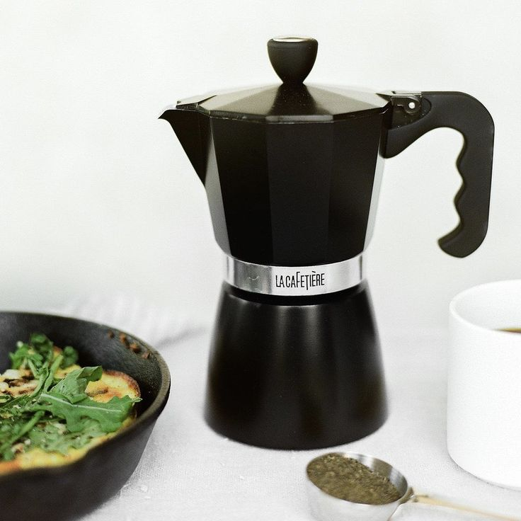 Double Serving Stovetop Moka Pot