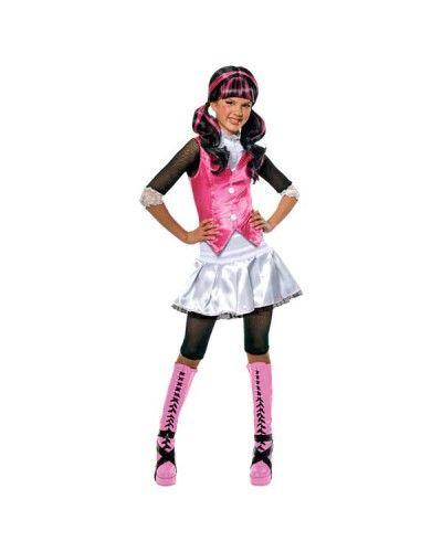 Fan van Monster High? Check deze prachtige verkleedkleding van Draculaura.