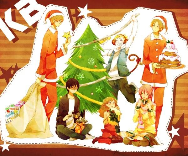 Kimi to Boku Christmas: Yuta, Yuki, Kaname, Shun, Chizuru and Masaki! <3