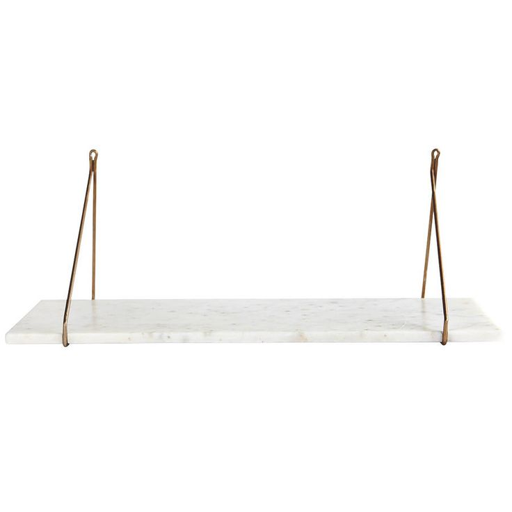 White Marble Shelf