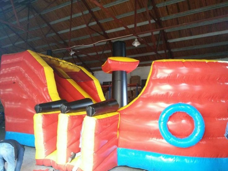 Inflatable ship Slide For Kids And Adults Large Inflatable slide ship