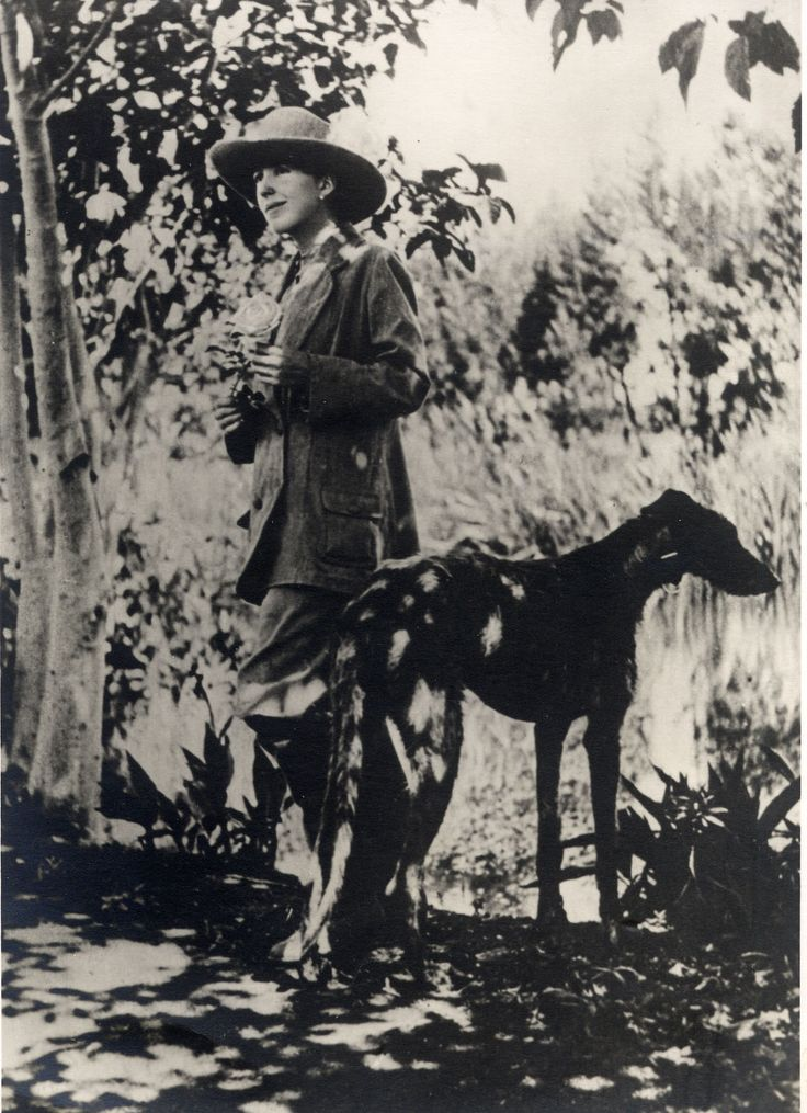 "Karen Blixen with her companion dog ""Dune"" in Kenya. Karen von Blixen-Finecke née Karen Christenze Dinesen was a Danish author also known by her pen name Isak Dinesen. She also wrote under the pen names Osceola & Pierre Andrézel. Blixen wrote works in Danish, French & English."