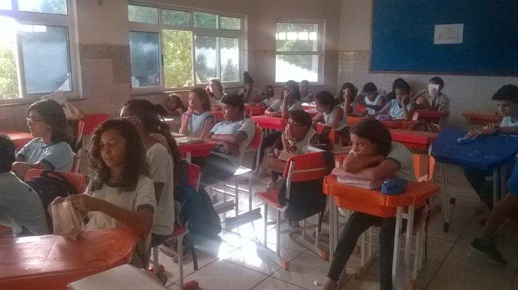 Blog do Inayá: Carta 2070 é apresentada pela Professora Cida Lan aos alunos do Inayá