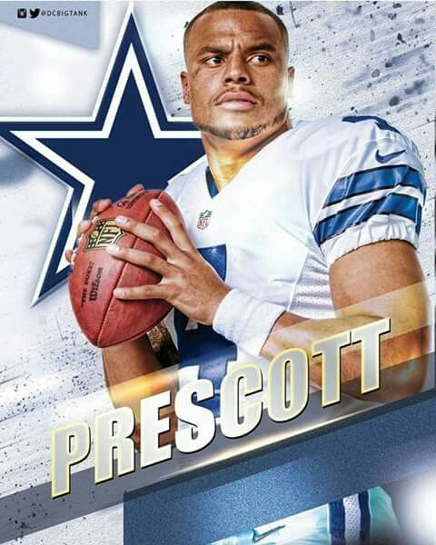 Prescott, so much better than romo.if the cowboys don't get rid of homo I'm not gonna be a fan anymore. # 9 is useless!!!!