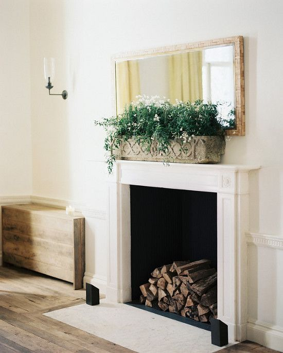 fireplace | photo patrick cline | lonny