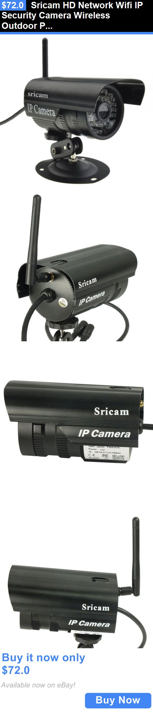Security Cameras: Sricam Hd Network Wifi Ip Security Camera Wireless Outdoor P2p Ir Night Vision BUY IT NOW ONLY: $72.0