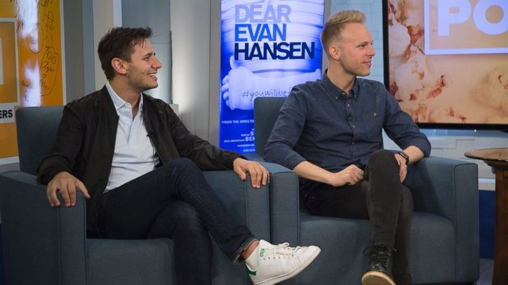 """It's been a busy year for Academy Award-winning songwriters and musical theater composers Benj Pasek and Justin Paul.   The duo won an Oscar for best original song for """"City of Stars,"""" from the movie """"La La Land,"""" and they hope to take home a Tony Award this year for their hit Broadway... - #Benj, #Creators, #Dear, #Evan, #Hansen, #Justin, #Pasek, #Paul, #TopStories"""
