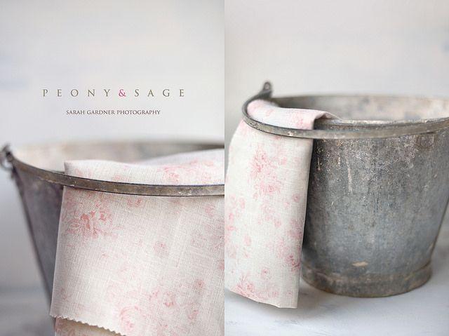 Peony and Sage Fabrics. Millie Powdery Pinks LInen. www.peonyandsage.com Photography by Sarah Gardner