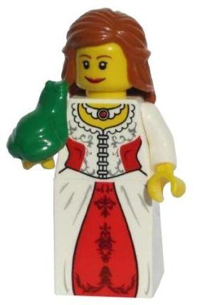 LEGO Lion Princess (With Frog) - LEGO Kingdoms Castle Minifigure by LEGO. $25.00. Figure stands approximately 2 inches tall.. Princess and Frog can be separated.. Genuine LEGO Kingdoms Minifigure.. WARNING: CHOKING HAZARD-SMALL PARTS & SMALL BALLS. NOT FOR CHILDREN UNDER 3 YEARS.. Exclusive to LEGO Set 7947 Prison Tower Rescue.. Figure stands approximately 2 inches tall. Weight is approximately 2 ounces. Brand new never assembled genuine LEGO. Can be completely ...