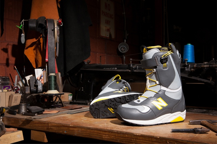 New Balance x 686 Snowboard Boot Collection WInter 2012-2013 • Highsnobiety
