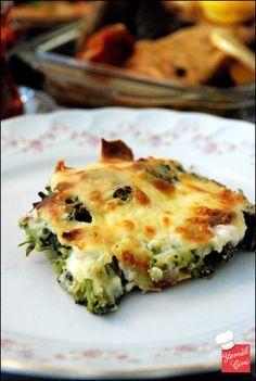 Beşamel Soslu & Patatesli Brokoli Böreği
