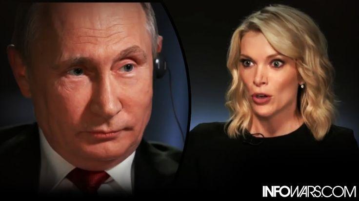 Drop Kick!! - Vladimir Putin Destroys Megyn Kelly