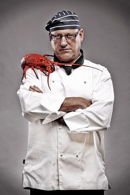 Magazine Shoot of Three Executive Chefs - Inside Portrait 1 by Daniel Hopper Photography, via Flickr
