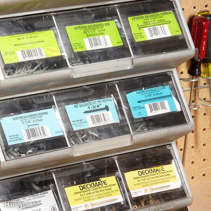 Accueil Idées d'organisation: Conseils: Idées de stockage à domicile | Le bricoleur de la famille