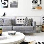 Siyah Beyaz Geometri | | Dekorasyon Cini