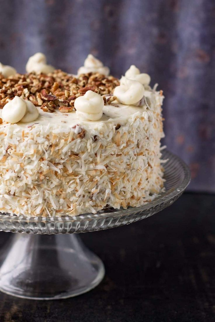 an analysis of the italian coconut cream cake Get iced italian cream cake recipe from food network  add the vanilla,  coconut and nuts, and stir well to incorporate in a separate bowl with clean  beaters,.