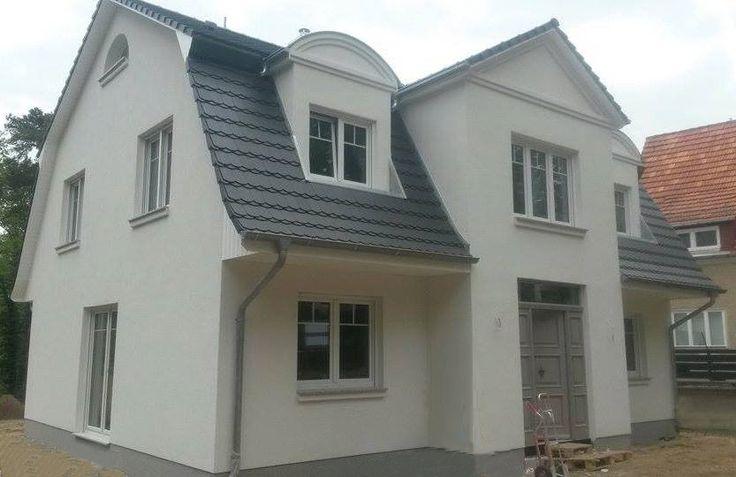 Hausbesichtigung am 14.06.2015 in 14552 Michendorf - Mansardendach-Villa - ca. 186m²  