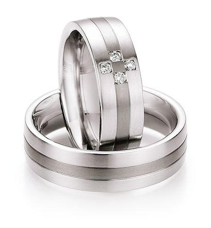 Stalen / Titanium Ringen -