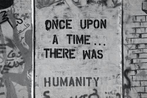 Street art - sign - life