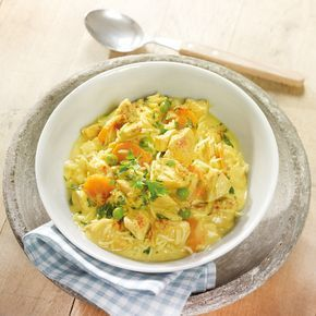 Hähnchen-Curry-Topf mit Reis | Weight Watchers
