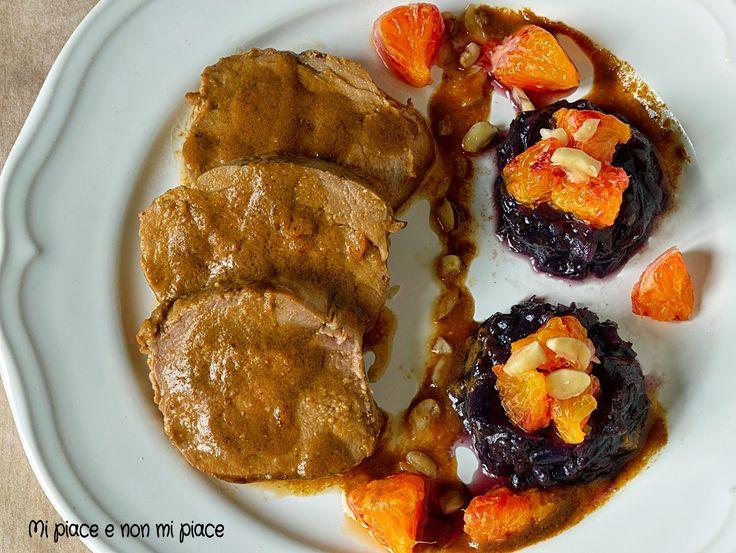 Mi piace e non mi piace: Filetto di Maiale Marinato agli Agrumi con Cipolle Caramellate allo Zenzero